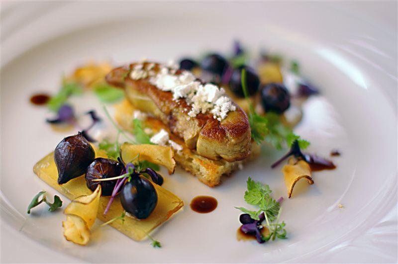foie gras forret
