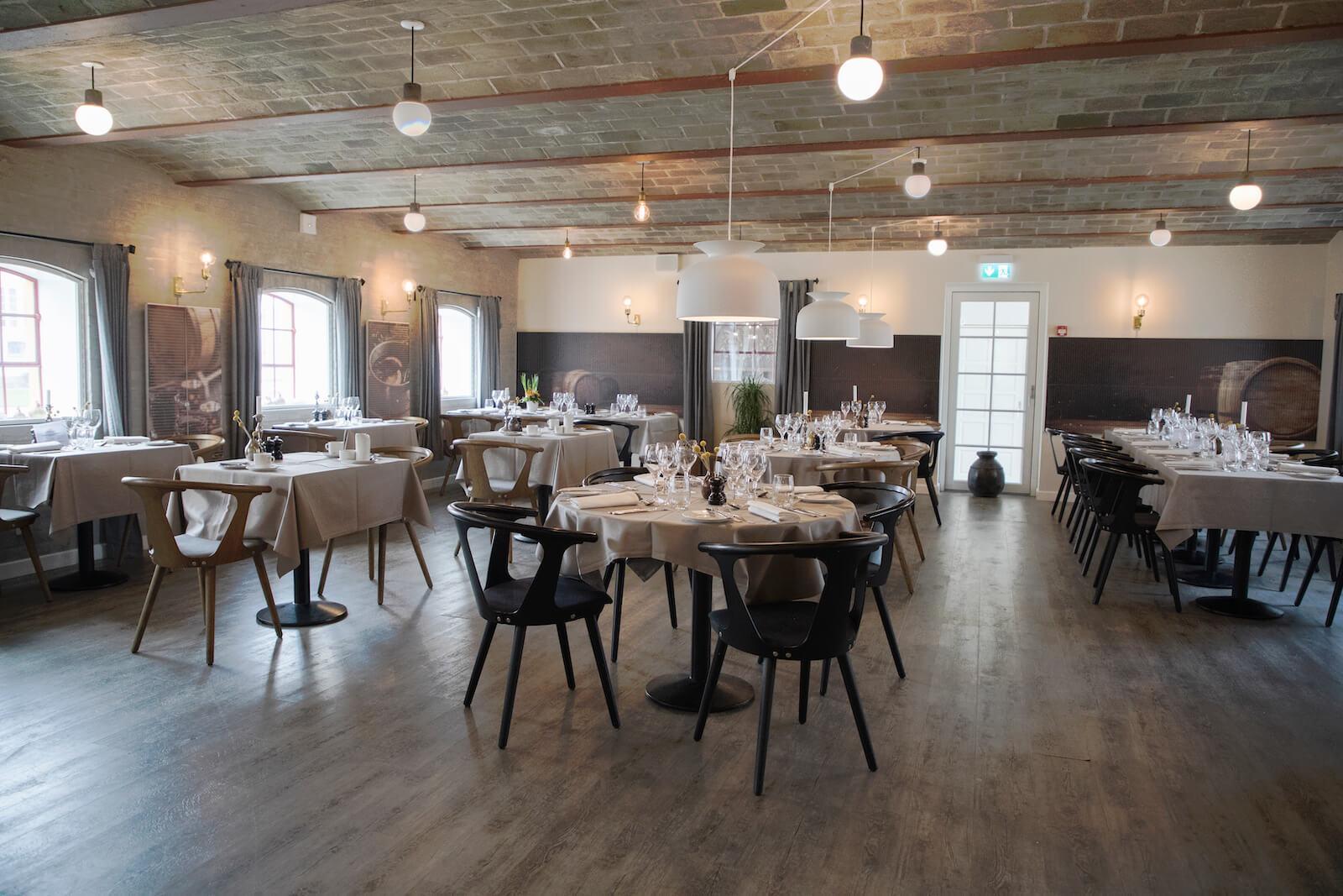 Hotel Bramslevgaards lækre restaurant
