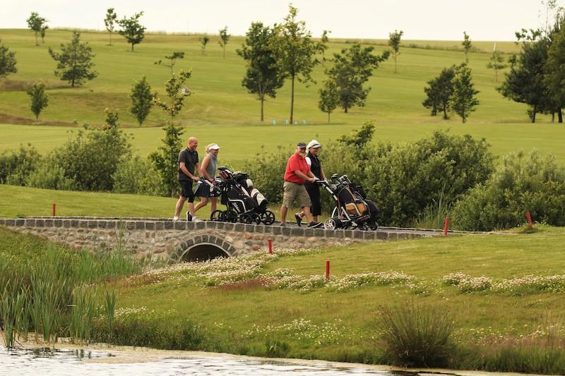 Hul 9 Hobro golfklub