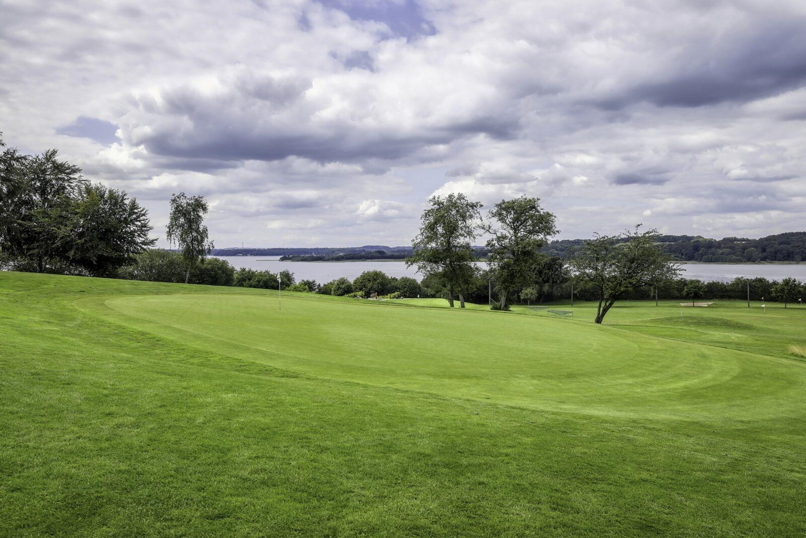 Gol Gourmet.dk Mariagerfjord Golfklub HDR foto 1