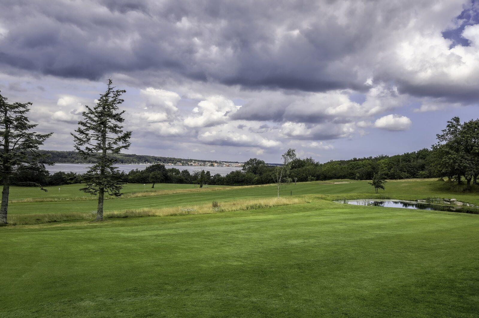 Gol Gourmet.dk Mariagerfjord Golfklub HDR foto 2
